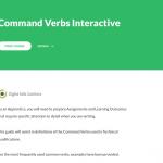 Command Verbs – Articulate 360 Rise