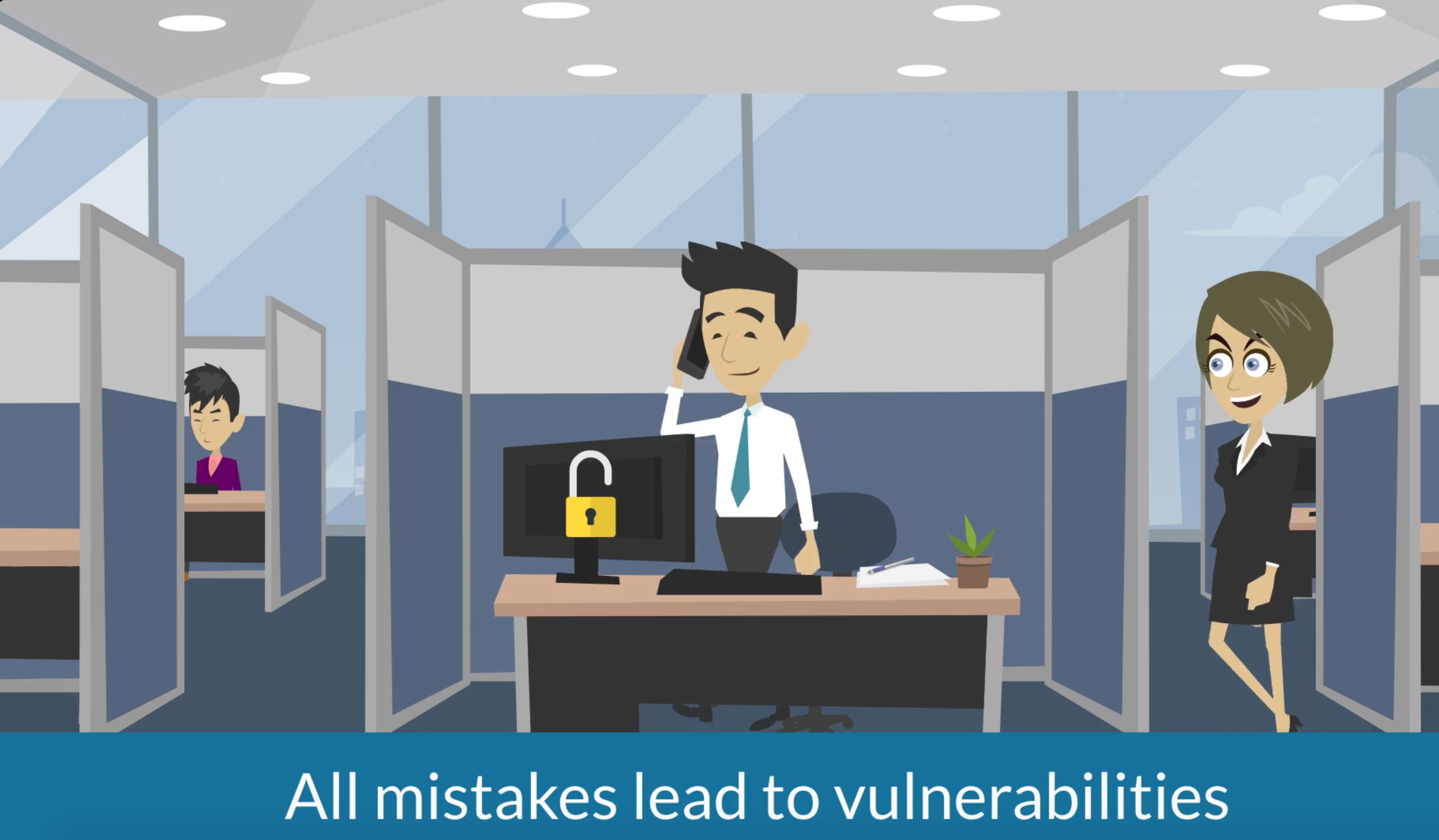 Human Factors lead to vulnerabilities