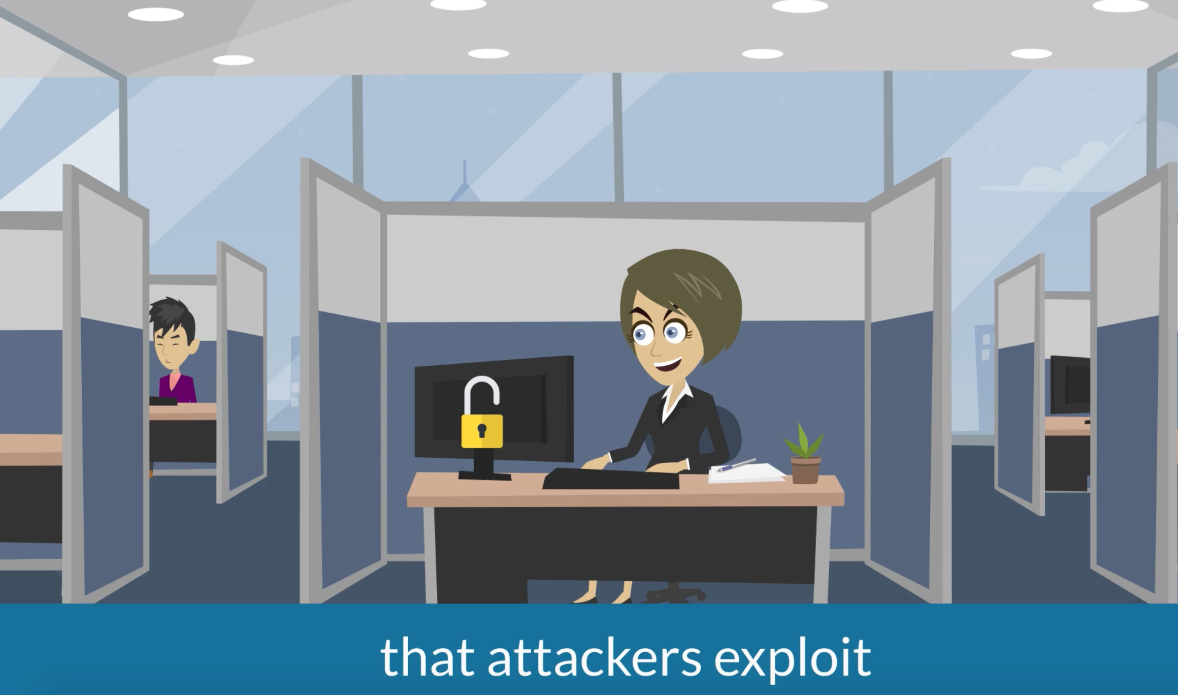 Attackers exploit human vulnerabilities